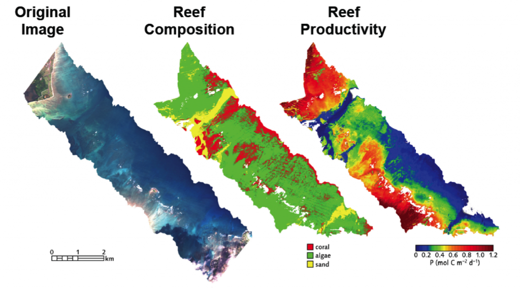 CORAL data maps